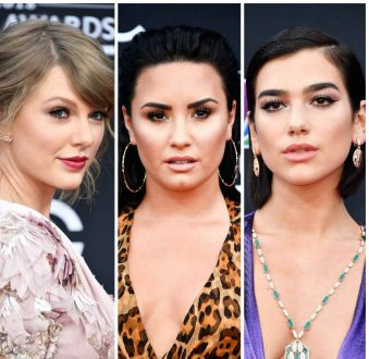Maquiagens do Billboard Music Awards: veja as escolhas de Taylor Swift, Demi Lovato, Dua Lipa e outras famosas!